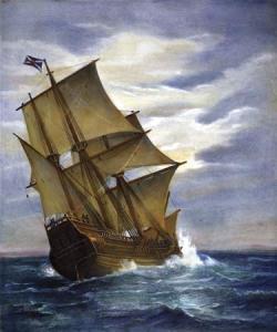 Mayflower - North Atlantic Pasage