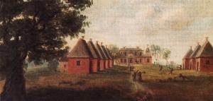Early Chesapeake Plantation