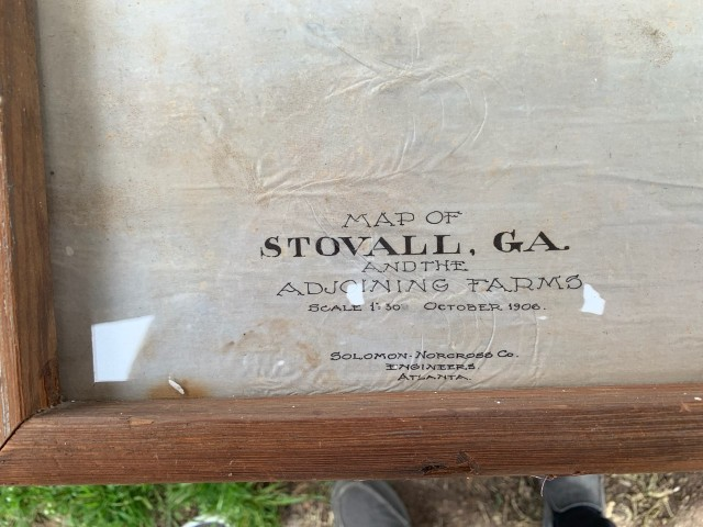 Stovall Plot zoom in on name date